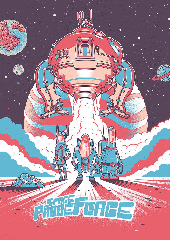 Space Probe Force – World Premiere